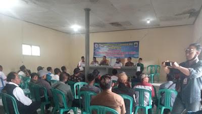 Acara MUSDES di Desa Mekar Jaya Kecamatan Cikalong Berlangsung Kondusif
