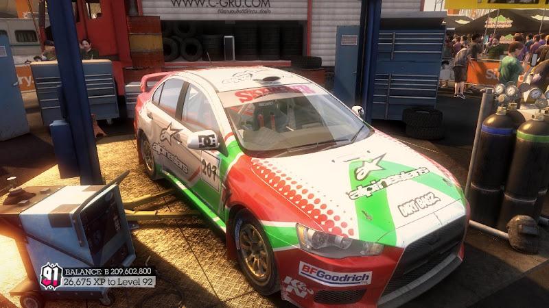 รายการรถกลุ่ม Rally ใน DiRT2 Mer-01