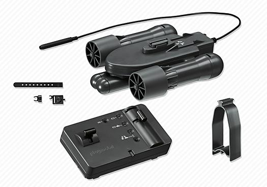 Contenido real de Playmobil® 5536 Motor Submarino RC