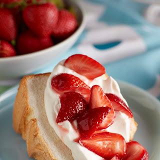 Angel Food Strawberry Shortcake