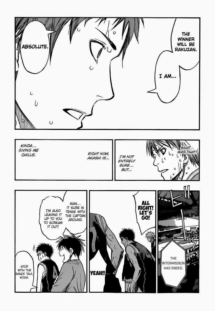 Kuroko no Basket Manga Chapter 257 - Image 10