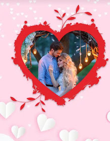 Set your picture in Valentine's Photo Frame and share with your loves ones » MaruGujaratDesi