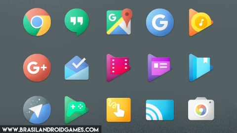 Chromatin UI - Icon Pack Imagem do Aplicativo