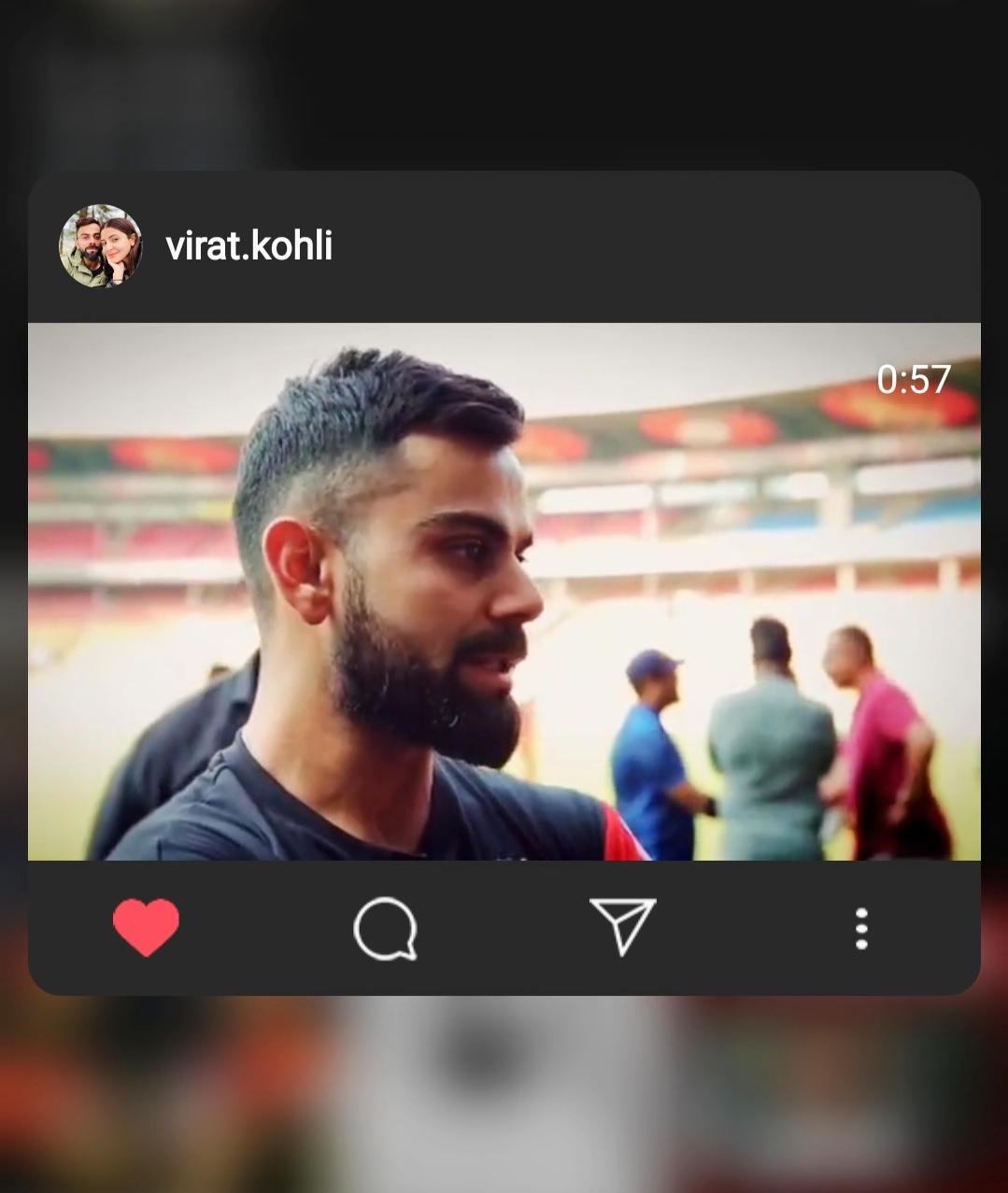 Virat Kohli became emotional before the start of IPL 2020, shared this lovely video