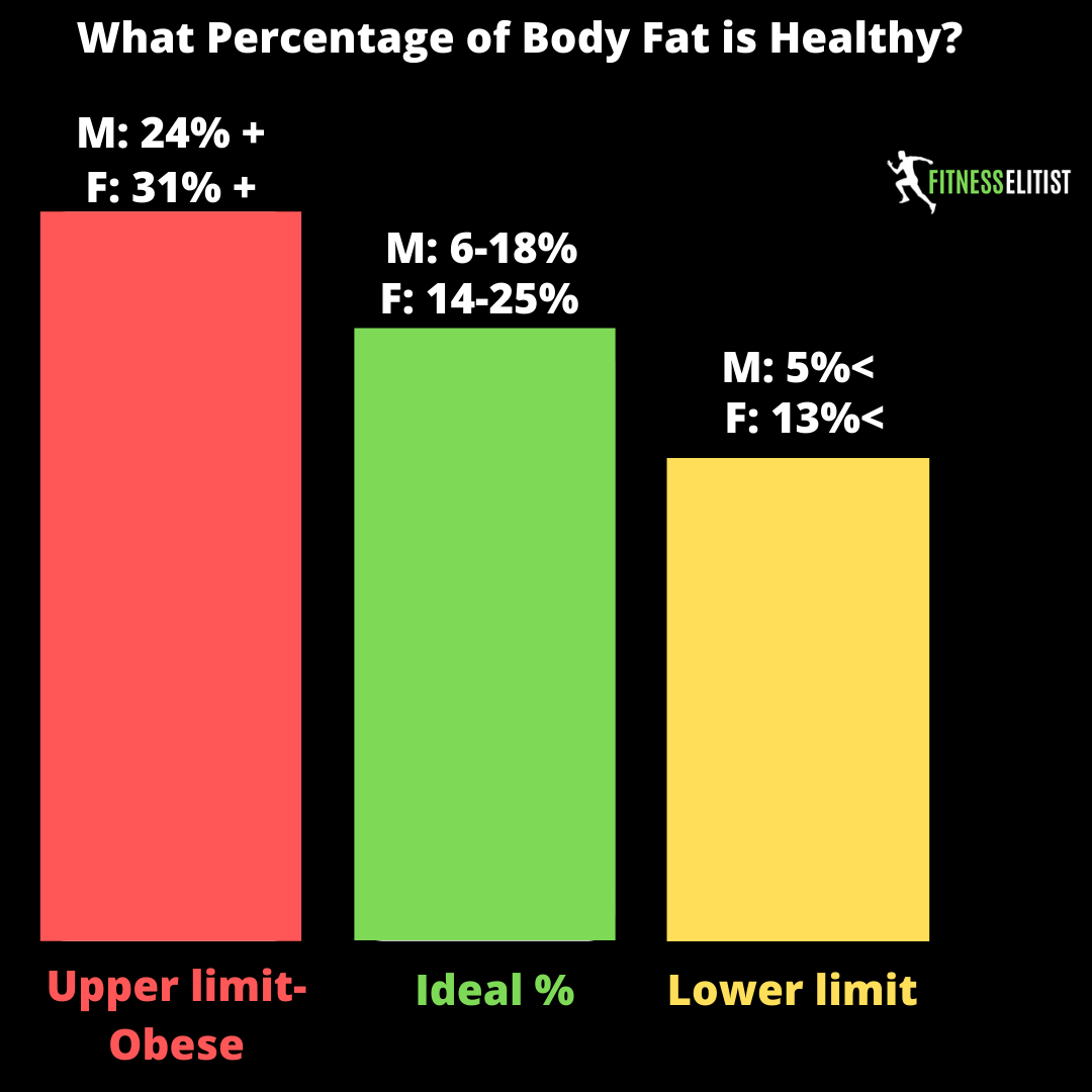 What Percentage of Body Fat is Healthy?