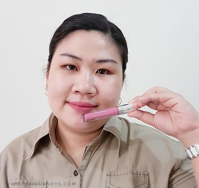 Review Wardah Exclusive Matte Lip Cream Berry Pretty