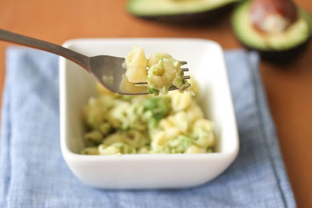 One Bowl Avocado Macaroni and Cheese