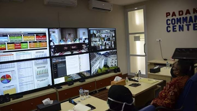 Wawako Hendri Septa Saksikan Launching Penempatan Anggota PDKI Tanggap Covid-19 di Sumbar.
