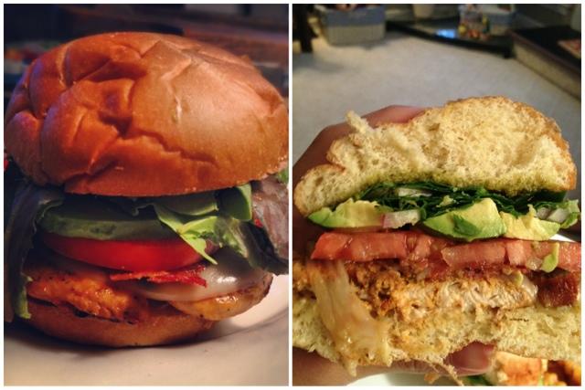 Food Network Chicken Cobb Burger