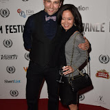 OIC - ENTSIMAGES.COM - Stefan Booth and Mrs Webster at the  Meet Pursuit Delange Premier at the 23rd Raindance Festival London UK 1st October 2015 Photo Mobis Photos/OIC 0203 174 1069