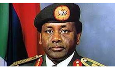 Handsome man beautiful signature, check out Abacha's signature (photos)