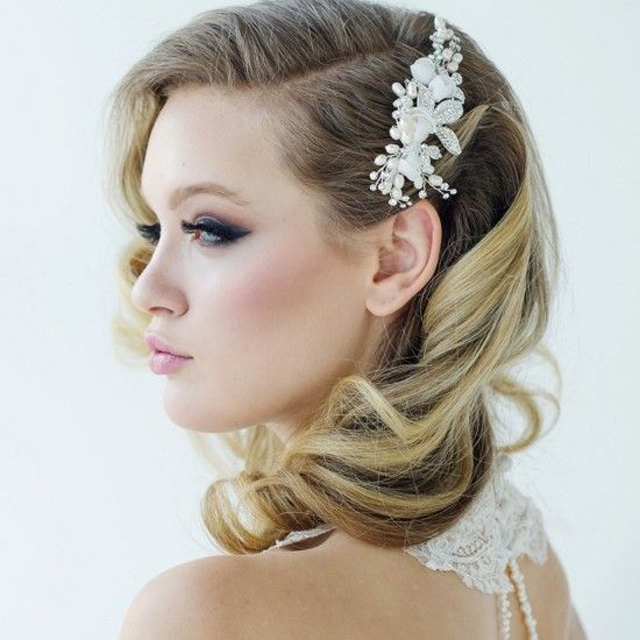 +10 Vintage Wedding Hairstyles For Women's 3