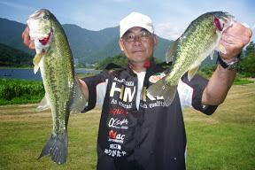 第5位 松坂誠選手 2本 1,480g