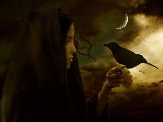 Raven Amd Moon, Moon Magic