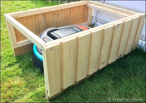 Mått-Garage-Robotgräsklippare