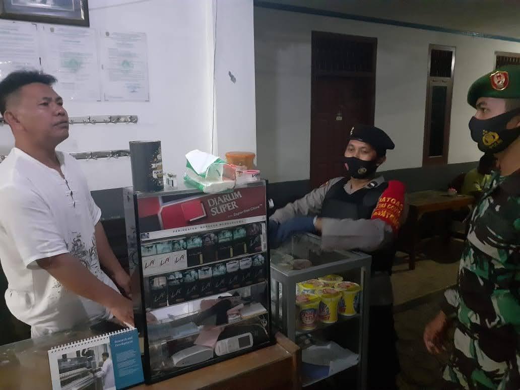 Cegah Kriminalitas, TNI-Polri Lakukan Pengecekan di Losmen