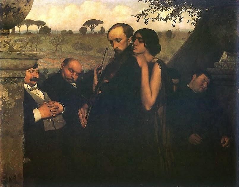 Edward Okun - Philistines, 1904