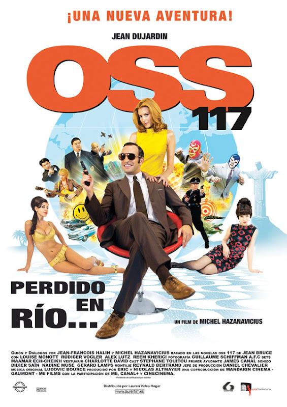 OSS 117: Perdido en Río (Michel Hazanavicius, 2.009)