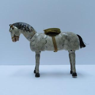 White Wooden Antique Wooden Horse