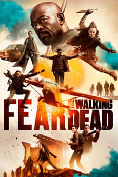 capa Fear the Walking Dead 5ª Temporada