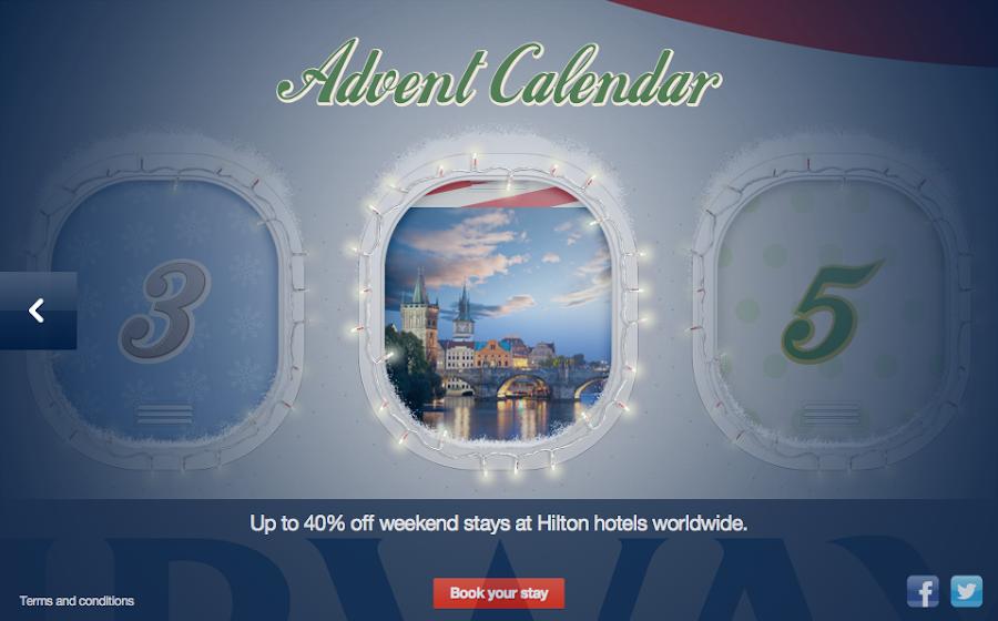 BA Advent Calendar is back for 2012