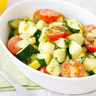 Garlic Herb Sauteed Zucchini and Squash