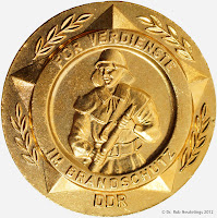 223a Medaille für Verdienste im Brandschutz www.ddrmedailles.nl