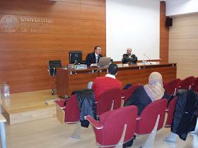 Conferencia del Dr. D. Ahmed Tahiri en la Universitat Politécnica de Valencia
