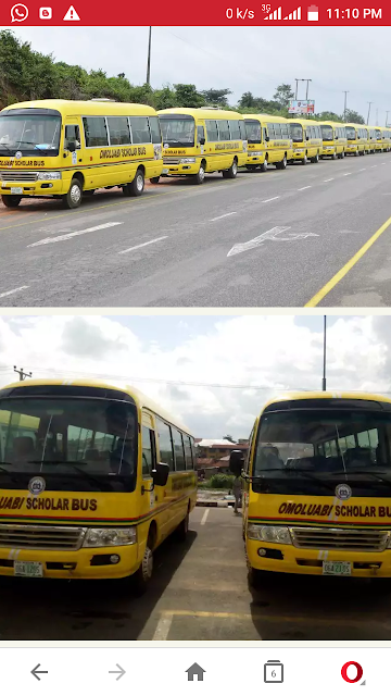 Governor Aregbesola Commissions School Buses For Public Schools In Osun