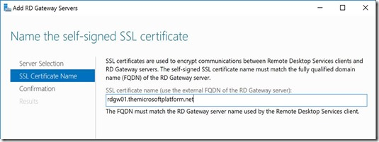 RDS 2016 Server Manager