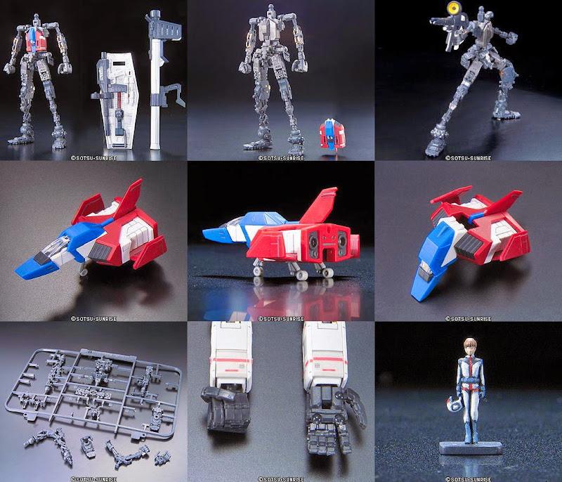 RX-78-2 Gundam RG 1/144 với thiết kế khung bên trong đặc biệt