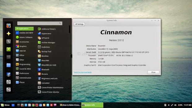 Instalar la última versión de Cinnamon en Ubuntu 14.04