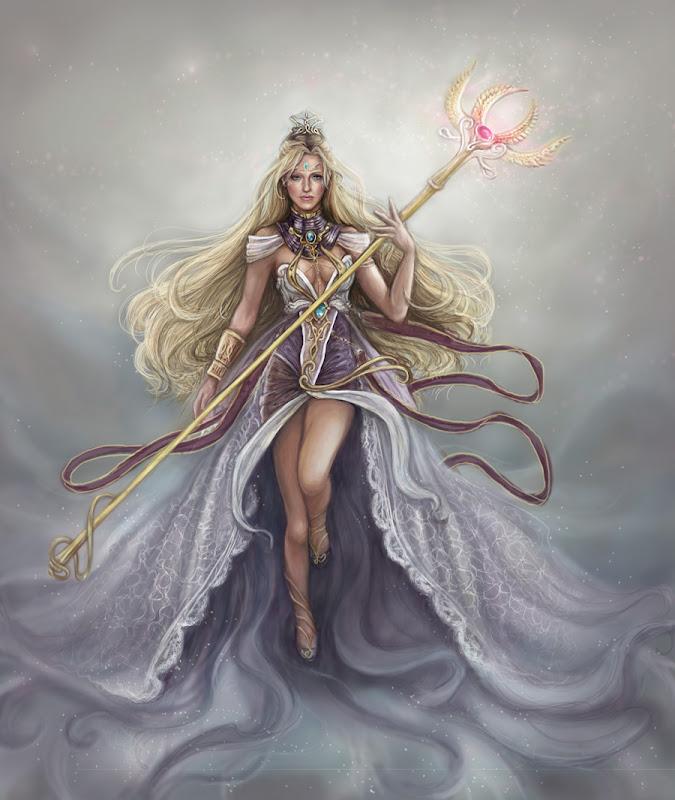 Goddess Painted, Goddesses