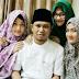 Karena Keikhlasan, Lora Fadil Ungkap Kebahagiaannya Hidup Rukun dan Berkumpul Bersama Ketiga Istrinya