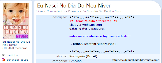 Comunidades do orkut