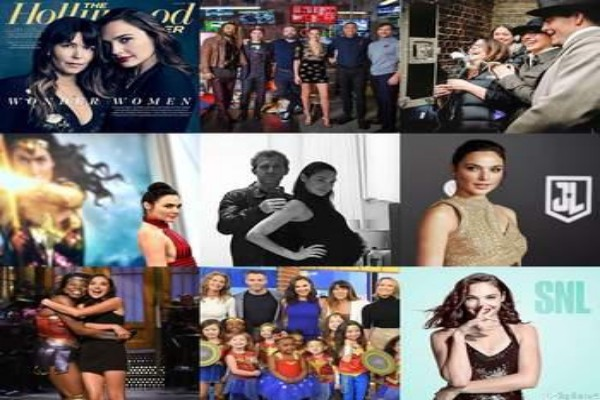 Gal Gadot's (Wonder Woman) Favourite Moments from 2017