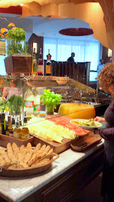 Some of the cheeses at the Salad Bar at the Fogo de Chão Portland Churrascaria