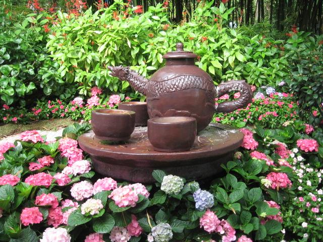Teapot & teacups