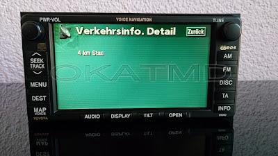 toyota b9000 tns600 navigationssystem radio cd touchscreen. Black Bedroom Furniture Sets. Home Design Ideas