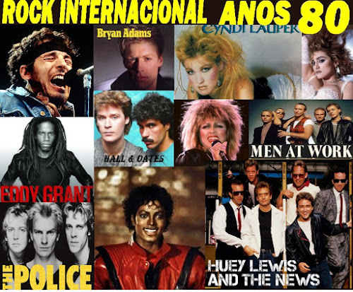 Roberto Batista Rock Internacional Anos 80