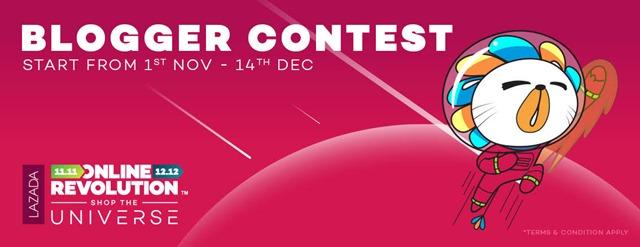 LAZADA Online Revolution Blogger Contest!