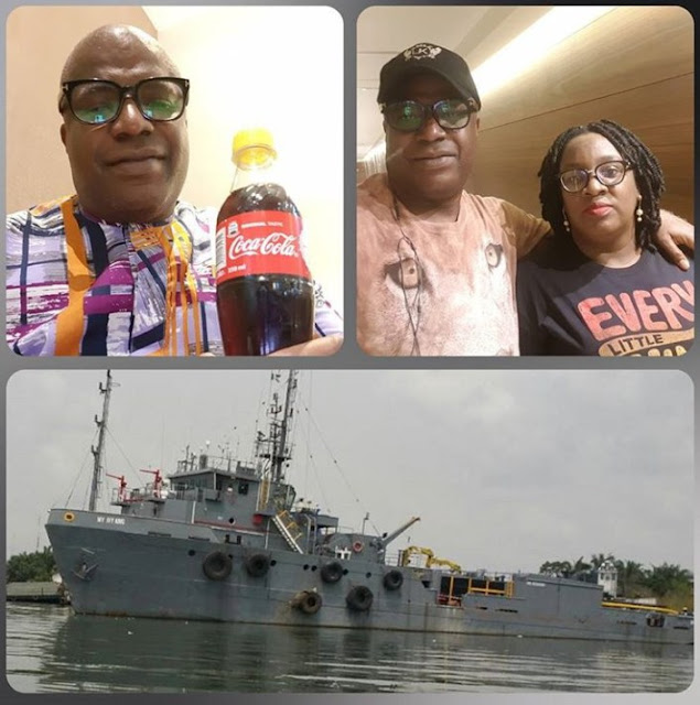Man Who Proposed To His Wife Without A Ring 20 Years Ago, Later In 2017 Buys Her A Ship (Photos)