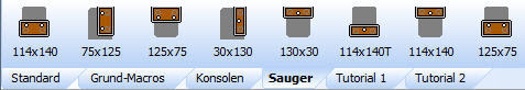ElementsCAM - Sauger