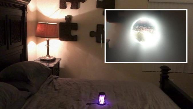 Controvérsia nas redes o homem abre um portal dimensional no seu quarto