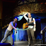 WWW.ENTSIMAGES.COM -    Jollyboat Musical Comedy  performing at      Beat The Brief Variety Show Cafe de Paris London September 22nd 2014                                                 Photo Mobis Photos/OIC 0203 174 1069 and