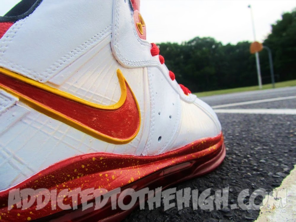 lebron 8 v1. nike lebron 8 v1 miami amp dallas 8220grand finale8221 customs lebron