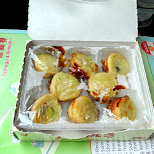 hot takoyaki from a vending machine in Nikko, Totigi (Tochigi) , Japan