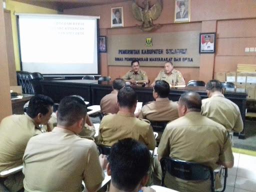 Maksimalkan Peran Tugas dan Fungsi DPMD Kabupaten Sukabumi Sesuai Perbup 58 Tahun 2016