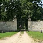 Domaine de Villarceaux : une entrée du domaine