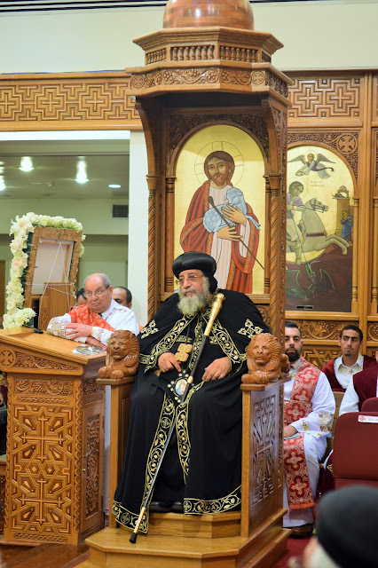 His Holiness Pope Tawadros II visit to St. Mark LA - DSC_0242.JPG
